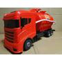 Caminhão Vermelho Volkswagem Bombeiro Bomba Dagua Trucado