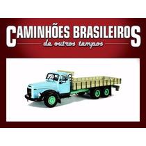 Miniatura Caminhões Brasileiros Tempos Volvo L395 Titan Azul