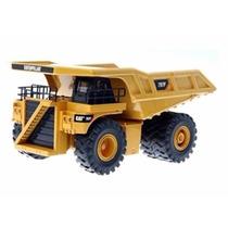 Mini Caminhão Caterpillar Fora De Estrada 797f Dump 1:32 Dtc