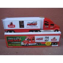 Caminhão Coca Cola/mickey 2004 Tour Carrier