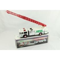 Caminhão De Bombeiro - Fire Truck Hess - Som E Luzes - 35 Cm
