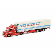 Mini Scania T113 T143 Streamline Reefer Trailer 1:50 Wsi