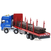Caminhão Transporte Madeira 1/50 Kdw Kaidiwei