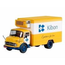 Miniatura Caminhão Kibon Mercedes 1113 1/43 + Fascículo