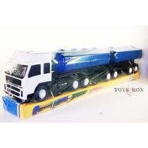 Miniatura Carreta Bitrem Tanque - Caminhão Brinquedo