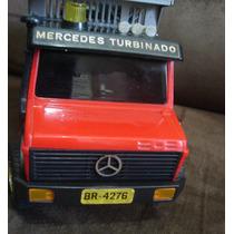 Caminhão Antigo Mercedes Turbinado Rei Com Controle Com Fio