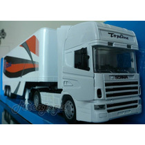 Scania R124/400 1/32 New Ray Volvo Mercedes Caminhão Iveco