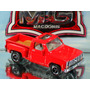 Matchbox Chevy Pickup Stepside Vermelha Exclusiva Macdonis