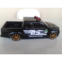 Miniatura Viatura Policia Civil Mato Grosso Do Sul
