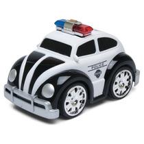 Mini Fusca - Viaturas De Polícia - Controle Remoto - Dtc