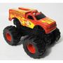 Backdraft Monster Truck Dodge Ram Bombeiro 1/43 Mattel