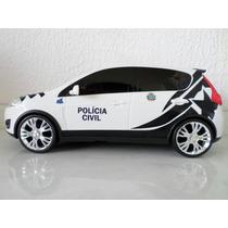 Miniatura Viatura Polícia Civil Do Mato Grosso- Pcmt
