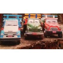 Caminhões Antigos Em Madeira Vários Modelos