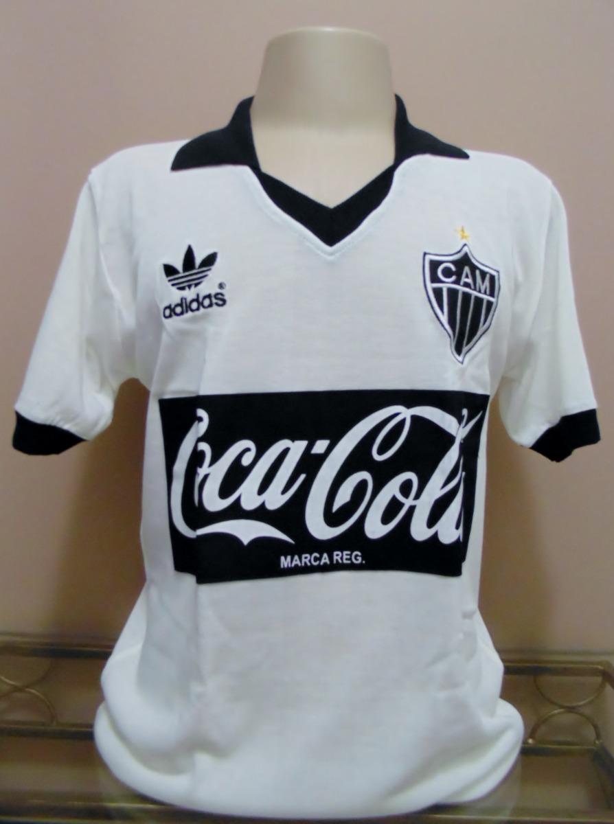 Camisa Retrô Atlético Mineiro Recopa Ronaldinho Ggg E Gggg - R  109 ... 9d6ee635b303e