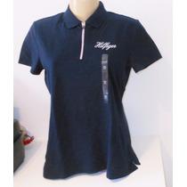 Tommy Hilfiger Camisa Polo Bordado M Ou G Fem Original Eua
