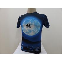 Camiseta Et O Extraterrestre Importada Print De Sublimação