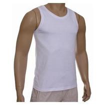 Regata Para Sublimação 100% Poliester Branca Abadá Camisa