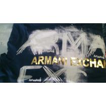 Camisa Armani Exchange Original Preta