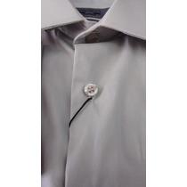 Camisa Social Masculina Punho Duplo / Abotoadura