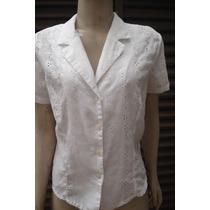 Camisa Feminina Em Lese Tam M
