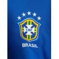 Blusa Oficial Seleção Brasileira Azul/branco, Tamanho P