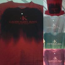 Kit C/ 5 Camisas Calvin Klein Gola V