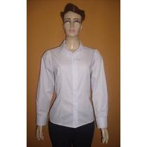 Camisa Social Feminina Em Tecido Unifil
