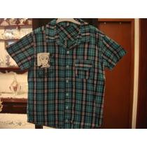 Bem 10 Blusao Xadrez Camisa Infantil Menino Tam. 10 Anos