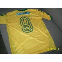 Camiseta Palmeiras Copa 2014 Amarela Camisa Esporte