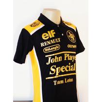 Camisas Esportiva Carro Equipe Lotus Formula 1 1985
