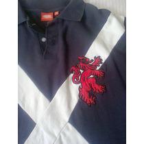 Camisa Pólo Importada Linda Simbolo Da Seleção Da Escócia