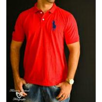 Camisetas Gola Polo Ralph Lauren Cores Variadas