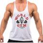 Regata Super Cavada Musculação World Gym