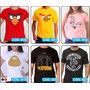 Camisas Engraçadas - Heróis - Séries De Tv - Cartoon