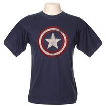 Camiseta Camisa Vingadores - Capitão America Frete Grátis!!!