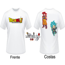 Camisa Dragon Ball Super, Camiseta Dragon Ball Super, Goku