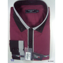 Camisa Social Slim Fit Italiana Pronta Entrega 100%original