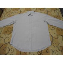 Camisa Social Brooksfield Tamanhog Cinza Otimo Estado Sacola