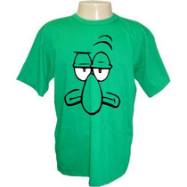 Camiseta Bob Esponja, Lula Molusco