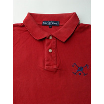 4645 - Camisa Polo Play Tam. G Red