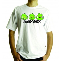 Camiseta Ou Baby Look Angry Birds, Adulto E Infantil