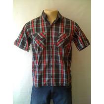Camisa Rusty M/c - 82.28.0238 Xadrez Nova
