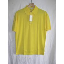 Camisa Polo Masculina John Smedley - Nova - Com Etiqueta
