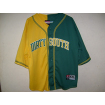 Jersey Beisebol Dirty South 2xl Hip Hop Eg 74cm X 64cm