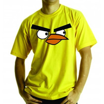 Camiseta Ou Baby Look Angry Birds, Adulto E Infantil