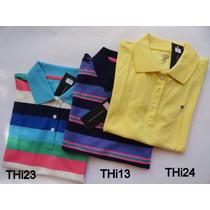 Camisas Menina Polo Infantil Tommy Hilfiger 12 A 16 Anos