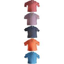 Hollister Camisa Manga Longa Xadrez Várias Cores Tam Xl Nova