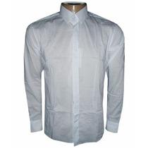 Camisa Social Calvin Klein Branca Lisa
