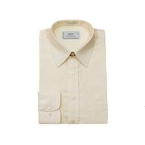 2 Camisas Raphy Panama, Ref.52132, Tamanho 7(47) Cor Palha.