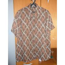 Camisa Feminina - Gg - Crepe De Seda